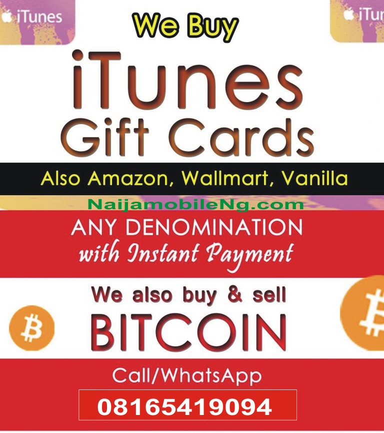 Sell Your ITunes, Amazon Or Vanilla Gift Cards To